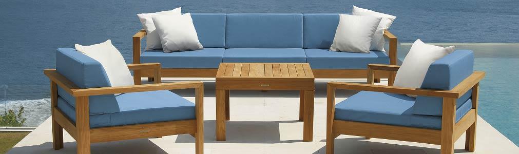 Teakholz Gartenmobel Sitzgruppe : Englische Gartenmöbel  hochwertige Outdoor Gartenmöbel von Villa